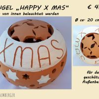 Kugel Happy xmas © palmberger