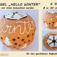 Kugel Hello winter © palmberger
