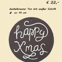 Schild Happy xmas © palmberger